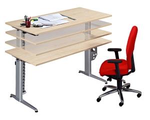 Ergonomischer bürotisch  Hochwertige Schreibtische online kaufen - vh-büromöbel