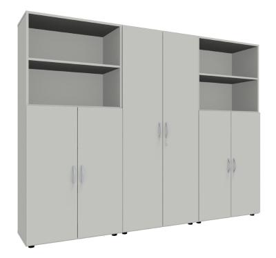 b ro schrankwand 3119 mega 5 ordnerh hen vh b rom bel. Black Bedroom Furniture Sets. Home Design Ideas
