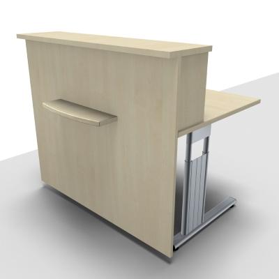 Empfangstheken Solid aus Holz - 6 Dekorfarben - vh-büromöbel