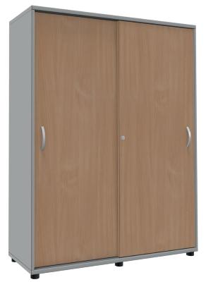 schiebet renschrank ten 4 oh 120 cm breit vh b rom bel. Black Bedroom Furniture Sets. Home Design Ideas