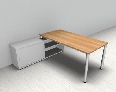 schreibtischkombinationen schreibtisch vh b rom bel. Black Bedroom Furniture Sets. Home Design Ideas