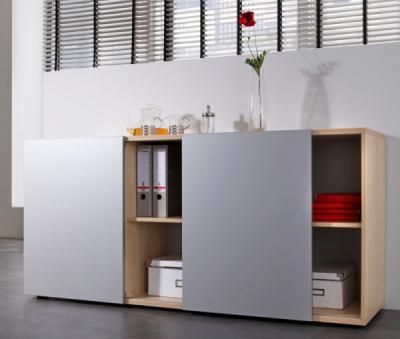 Highboard mit schiebetüren  Sideboards für Ihr Büro - vh-büromöbel