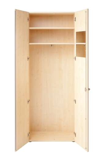 hochwertiger garderobenschrank master 6 ordernhoehen 80 cm. Black Bedroom Furniture Sets. Home Design Ideas