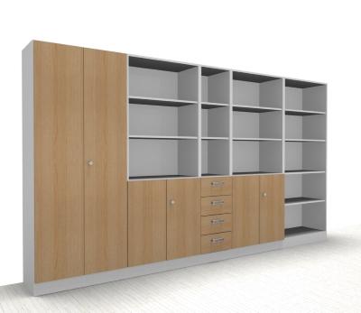 Büro-Schrankwand Klassik1 Büro Schrank vh-büromöbel Aktenschränke ...