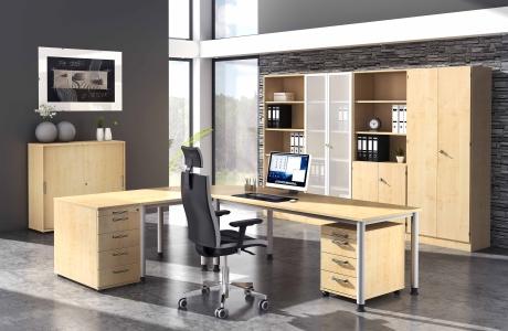 Komplettbüro H6 - vh-büromöbel