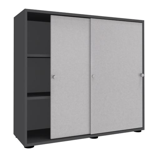 schiebet renschrank master 120 cm breit 3 ordnerh hen vh b rom bel. Black Bedroom Furniture Sets. Home Design Ideas