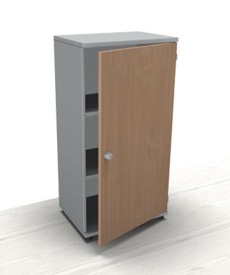 Büromöbel schrank buche  Schrank TEN 3 OH 60 cm breit, Schloss links - vh-büromöbel