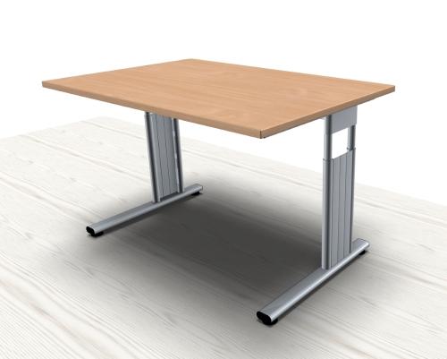 schreibtisch mega c fu 120 cm vh b rom bel. Black Bedroom Furniture Sets. Home Design Ideas