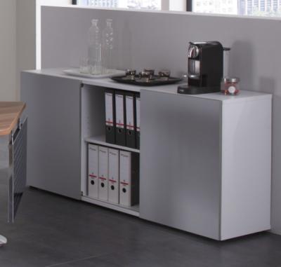 sideboard mit schiebet ren vh b rom bel. Black Bedroom Furniture Sets. Home Design Ideas