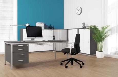 Büromöbel System G Schreibtische Aktenschränke - vh-büromöbel
